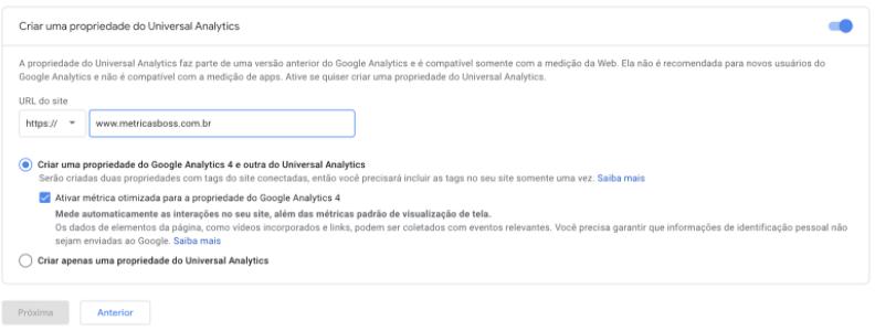 Como criar conta no Universal Analytics depois do lançamento do GA4 04.png